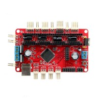 Geeetech 3D Printer Parts Teensylu V0.8 Board Hi3D RepRap Prusa Mendel Printer Driver Board
