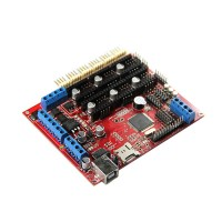 3D Printer Motherboard RepRap Steppermotors Megatronics V2.0 Main Driver Control Board