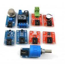 Arduino Mega Module Kit Mega V4 Expansion Board Smoke Gas Detector Module MQ2 for DIY