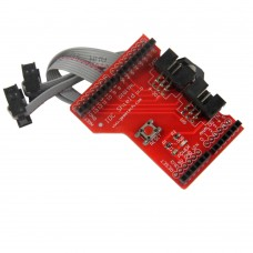 IDC SPI Sensor Shield IDC-6 SPI Shield Expansion Board with IDC6 Cable for Arduino