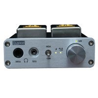 Dugood HiFi Headphone Amplifier USB Sound Card Decoder Music Audio Player UA8002