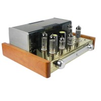 YAQIN MC-84L EL84 Vacuum Tube Amplifier Audio Headphone Amp Class-A HIFI Tube