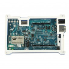 Development Board Case Double Color Acrylic Shell Box Transparent + Blue 128mmx78mmx19mm