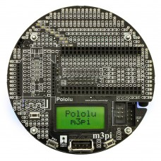 Pololu 3Pi Robotic Car ATmega168/328P Line-Following Line-Maze-Solving LCD Robot