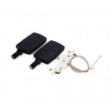Antenna Range Extender Signal Booster Kit for DJI Phantom 3 Standard Quadcopter-Black