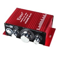 MA170 2-Channel Hi-Fi Stereo Amplifier 12V CD DVD MP3 Audio Speakers for Car Motorcycle Home Power DC