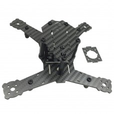 FeeYoung Q160 4-Axis Carbon Fiber Quadcopter Frame with Mini PCB for FPV