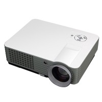 RD-801 2200 Lumens LED Projector TV HDMI Multimedia Smart LCD Video Projector Home Theater 1080P Movie Player
