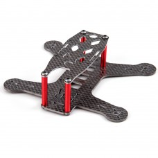 BeeRotor Mini Carbon Fiber Racing Quadcopter Frame 130MM for QAV130 BR130