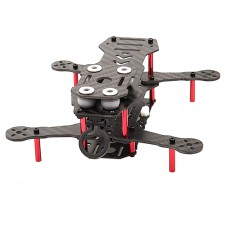 BeeRotor Mini Carbon Fiber Racing Quadcopter Frame Kit 160MM QAV160 BR160