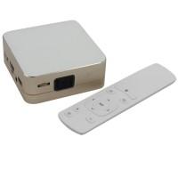 P96 Projector 50 Lumens 854x480 Android 4.4 Quad-Core Mini LED HD 1080P Multimedia Player