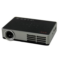 DLP-600W HD 1080P 1000 ANSI Lumens Mini Digital 3D DLP Active Shutter 2D to 3D LED Projector