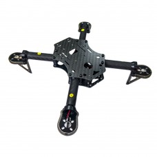 Star Power 260Plus Carbon Fiber 4-Axis Quadcopter Frame 258mm for FPV DIY