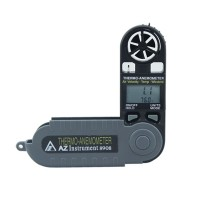 AZ8906 Handheld Anemometer Wind Speed Meter Digital Temperature Thermometer