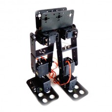 Assembled 6 DOF Biped Robotic Educational Robot Kit Servo Bracket with LD-1501 Servos & 32Ch Controller