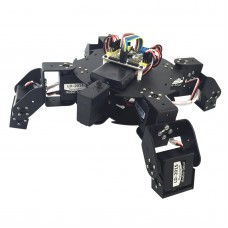 Assembled 9 DOF LTR-4 Turtle Robot Four Feet Frame with LD-2015 Servos & 32CH Controller & PS2 Handle
