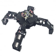 Assembled 12DOF LCR-4 Four Feet Mechanical Robot Bracket & LD-1501MG Servos & Controller & Handle