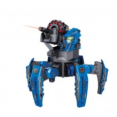 Remote Control Intelligent Spider Battle Robot Electric Tank Robotic Children Toy-Blue