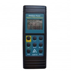 AZ8721 Industrial Electronic Thermometer Hygrometer Dew Point Meter with Alarm