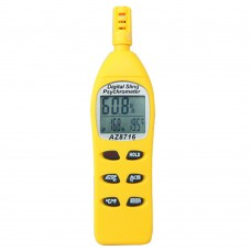 AZ8716 Digital Pocket Psychrometer Temperature and Humidity Meter Hygrometer with Dew Wet Bulb