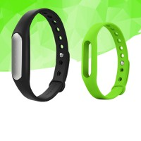 XiaomiMi 1S Heart Rate Monitor Smart Wristband Miband Bracelet for Android iOS Passometer Fitness Tracker w/Strap