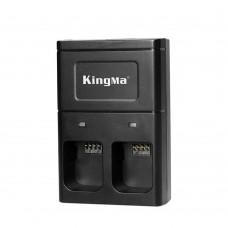 Kingma BM036 Dual-Slot Battery Charger for DJI Osmo Handheld 4K Gimbal Camera