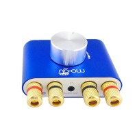Bluetooth 4.0 Audio Receiver Wireless Audio Receiving Lossless Adapter Board Module for HIFI Upgrading-Blue