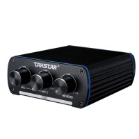 TAKSTAR MA-2D 3D Reverberation Audio Amplifier Audio Effect Double Channel Stereo Integrated Microphone Amplifier