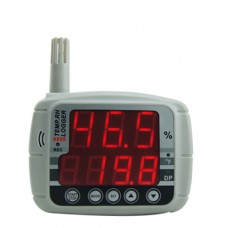 AZ8809 High Precision Humidity Temperature Recorder Data Logger Hygrothermograph with LED