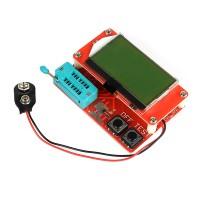 M328 Digital Transistor Tester Capacitance ESR Meter Diode Triode MOS LCR Better than M8