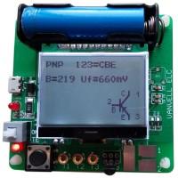 Mega328 Transistor Tester Diode Triode Inductor Capacitance ESR Meter LCR LED