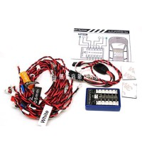 G.T.POWER 12 LED Flashing Light System for RC Remote Control Cars Smart PPM FM FS 2.4G Trucks