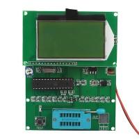GM328 Transistor Tester ESR Meter Cymometer Square Wave Generator Digital Detect NPN PNP MOS FET JFET