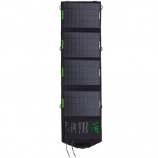 16W Foldable Solar Charger Portable Mobile Panel Solar Power Bank Dual USB output for Outdoor Charging