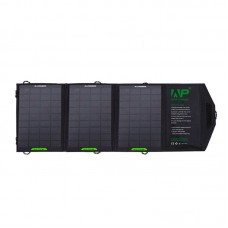 12W Foldable Solar Charger Portable Mobile Panel Solar Power Bank Dual USB output for Outdoor Charging
