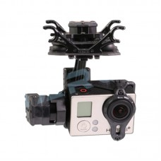 Tarot T4-3D Dual Shock-Absorber 3-Axis Gimbal PTZ for Camera Gopro Hero4 3+ 3 TL3D02 Multicopter