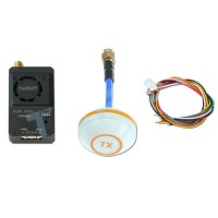 Tarot TL300N4 5.8G 32CH 1000mW Wireless AV Transmitter TX with Aluminum Case+Mushroom Antenna for Multicopter