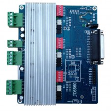 CNC Engraving Machine Controller TB6560 Stepper Motor Driver with Radiator for Expansion 4 5-Axis