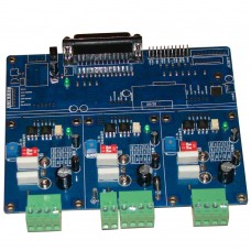 CNC Engraving Machine A3977 3-Axis Step Motor Driver Control Board with Radiator for Mach 2 3 KCAM EMC