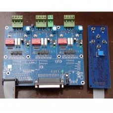 CNC Engraving Machine 3-Axis Step Motor Driver Control Board Key Board TB6560 with Radiator for Mach KCAM EMC