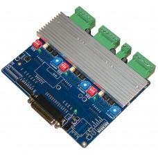 CNC Engraving Machine 3-Axis Step Motor Driver Control Board Key Board JC3A with Radiator for Mach 2 3 KCAM EMC