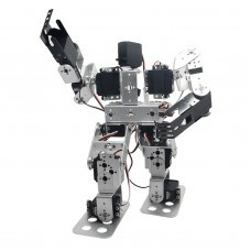 Assembled 13 DOF Biped Robotic Educational Robot with LD-1501MG Servo for Racing Dancing