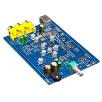 X-HDA1 SA9227 CS4398 24Bit 192KHZ PCM DSD Asynchronous Decoder Board USB DAC Headphone Amplifier