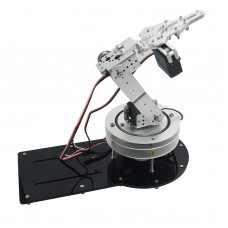 Assembled 4DOF Mechanical Arm Metal Structure Holder with LD-1501MG Servo for Robot