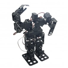 Assembled 13DOF Biped Robotic Educational Robot Servo Bracket Ball Bearing w/LD-1501MG Servo
