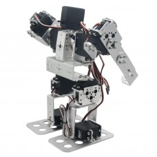 Assembled 9DOF Biped Robot Educational Robot with Metal Horn Ball Bearing LD-1501MG Servo