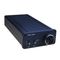 TA2024 Digital Power Amplifier 15W+15W Dual Channel Bluetooth HIFI Amp w/Power Supply-Black