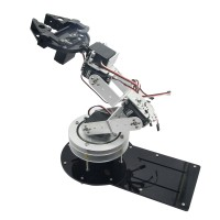 Assembled 6DOF Robot Mechanical Arm Rotating Base with Digital Servo for Education Teaching