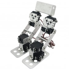 Assembled 8DOF Humanoid Biped Robotic Educational Robot with Bracket Servo for Racing