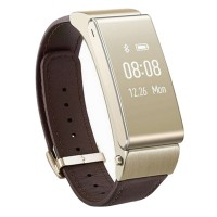 Huawei TalkBand B2 Waterproof Smart Bracelet Pedometer Watch Bluetooth Fitness Band Sports Wristband for Android iOS Phone-Gold